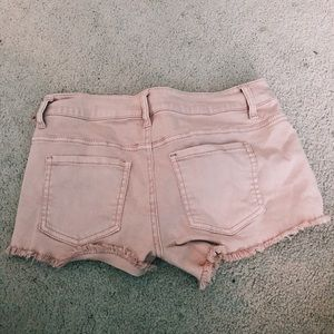 Zumiez Shorts - 🌟denim pink shorts🌟